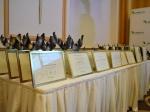 Statuetki wykonane przez naszą pracownię z okazji 10-lecia UPEMI