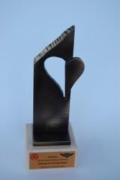KULTURA statuetka na zamówienie Serce