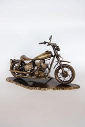 INNE Statuetka motocykl